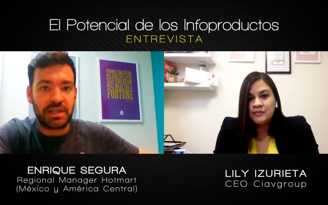 Entrevista a Enrique Segura de Hotmart: El Potencial de los Infoproductos